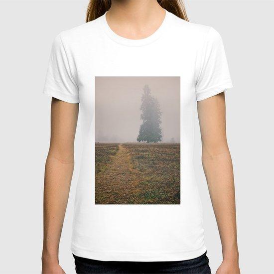 Hiking in the Fog T-shirt