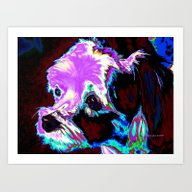 Colorful Whimsical Malte… Art Print