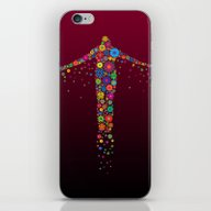 Oblation Flowers iPhone & iPod Skin