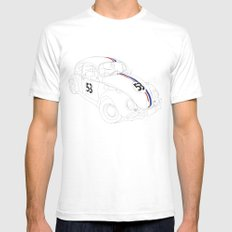 Herbie Mens Fitted Tee White SMALL