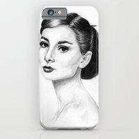 iPhone & iPod Case featuring Audrey by Anna Tromop Illustration
