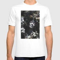 Wood Woman Mens Fitted Tee White SMALL