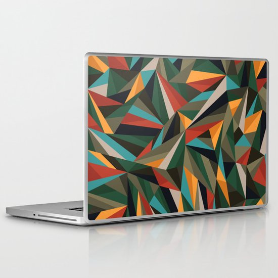 Sliced Fragments II Laptop & iPad Skin