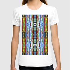India Goa Painting Metal… Womens Fitted Tee White SMALL