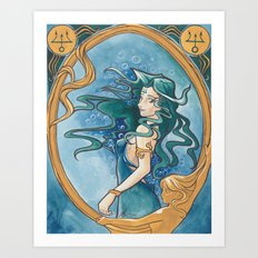 Princess Neptune Art Print