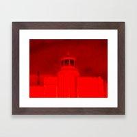 Satan's Building Framed Art Print