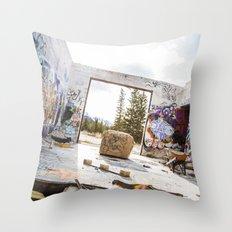 get gripped Throw Pillow