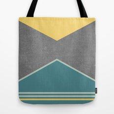 Concrete & Triangles III Tote Bag