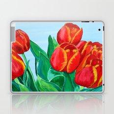 Red Tulips  Laptop & iPad Skin