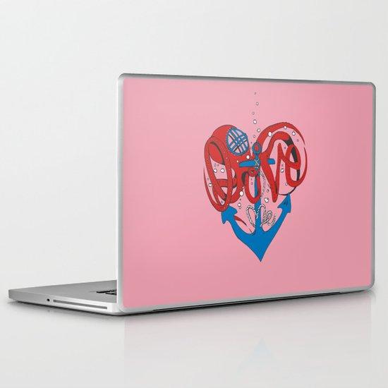 Deeply in Love Laptop & iPad Skin