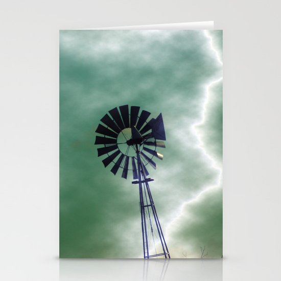 Blown Away Stationery Card