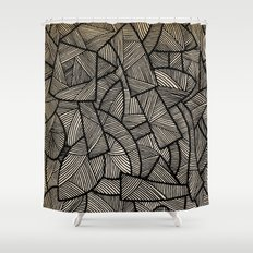 - nude on the grass - Shower Curtain