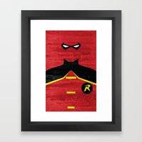 Boy Wonder Framed Art Print