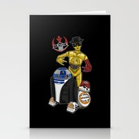 Beastie Droids Stationery Cards