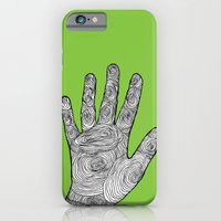 iPhone & iPod Case featuring Handprint by Negative Space