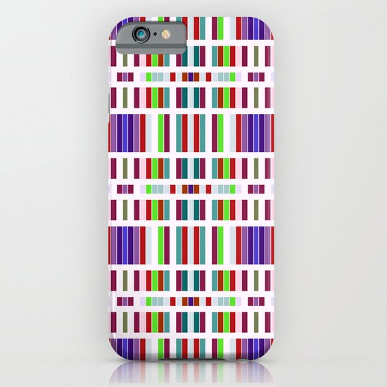 Retro Bar Pattern iPhone & iPod Case