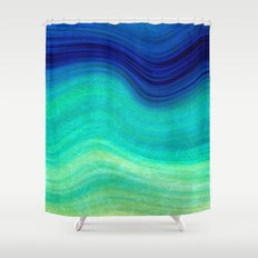 SEA BEAUTY 3 Shower Curtain