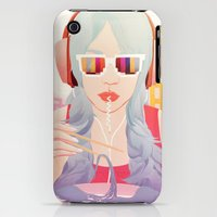 iPhone 3Gs & iPhone 3G Cases featuring Ouroboros by Alex Craig