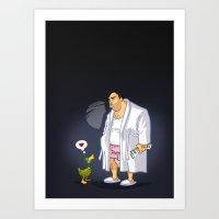 KWeb : Tony Soprano Art Print