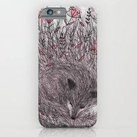 Sleeping fox iPhone 6 Slim Case