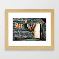 Buoy Oh Buoy Framed Art Print