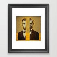 AbracadAbraham - Lincoln Framed Art Print