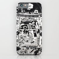iPhone Cases featuring contacto real by ALVAREZ