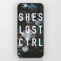 She's Lost Control iPhone & iPod Skin