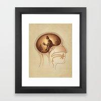 Mind Reader Framed Art Print