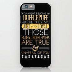 Hufflepuff iPhone 6 Slim Case