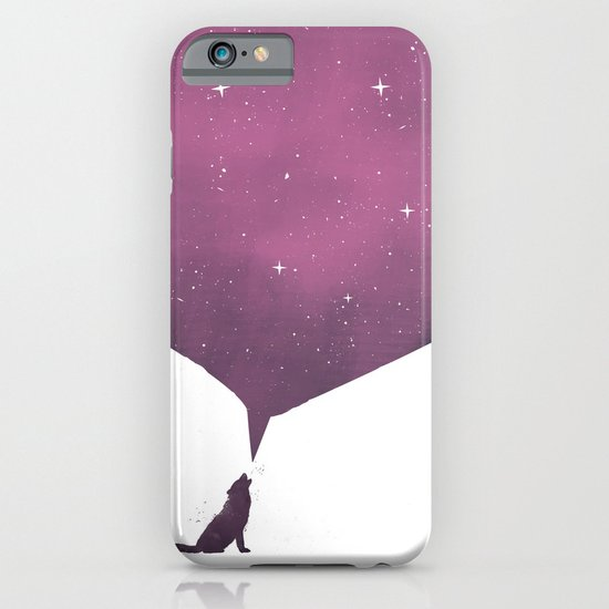 wolf song iPhone & iPod Case