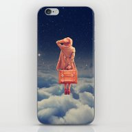 Galactic Traveller iPhone & iPod Skin