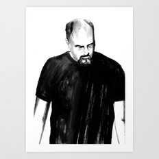 DARK COMEDIANS: Louis C.… Art Print