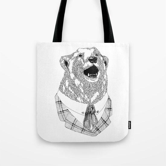 Mr  Bear Tote Bag
