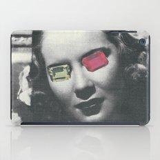 Psychedelic glasses II iPad Case