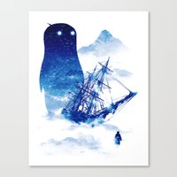 Abandon Ship Canvas Print