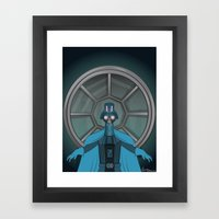 Consume The Galaxy Framed Art Print