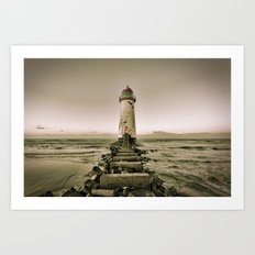 Put a little lighthouse in your soul Art Print