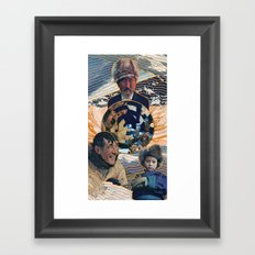 Ice Buddies Framed Art Print