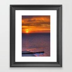 Kent Sunrise Framed Art Print