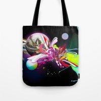 Splash Runner Tote Bag