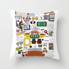 Collage Throw Pillow