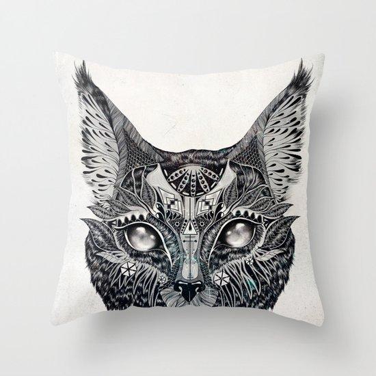 Lynx Throw Pillow