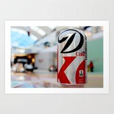 Diet Coke Art Print