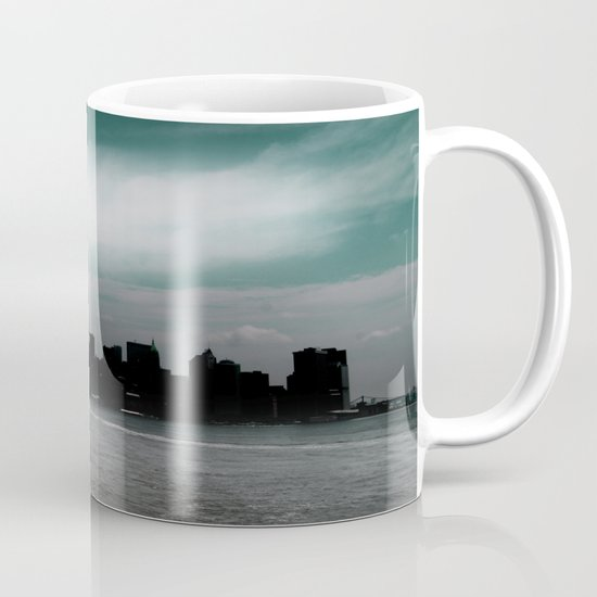 Renewal - New York City skyline Mug