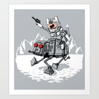All Terrain Adventure Tr… Art Print