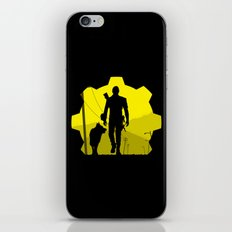 Vault 111 life iPhone & iPod Skin