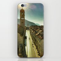 Sunrise over Old Dubrovnik iPhone & iPod Skin