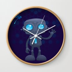 Waving Robot Wall Clock