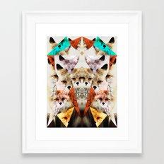 WHAT THE FOX SAY Framed Art Print